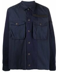 Diesel Chest Pocket Panelled Overshirt