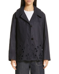 Sofie D'hoore Cimara Embroidered Button Front Jacket
