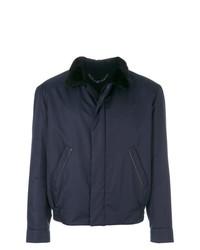 Brioni Contrast Collar Jacket