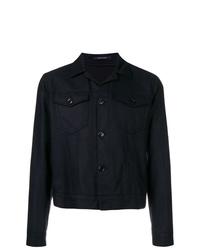 Tagliatore Fitted Shirt Jacket