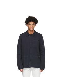 Nudie Jeans Navy Barney Jacket
