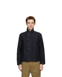 RRL Navy Bower Deck Jacket