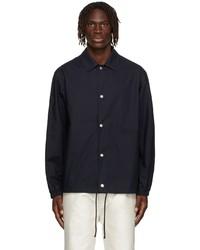 Jil Sander Navy Cotton Jacket