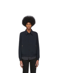 Paul Smith Navy Laser Cut Jacket