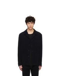 Hugo Navy Moleskin Joah Jacket