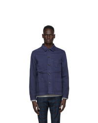 Ps By Paul Smith Navy Work Jacket