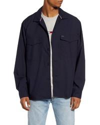 Tommy Hilfiger Regular Fit Stripe Cotton Linen Shirt