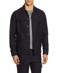 Acyclic Slim Fit Shirt Jacket