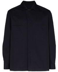 Ermenegildo Zegna Wrap Style Shirt Jacket