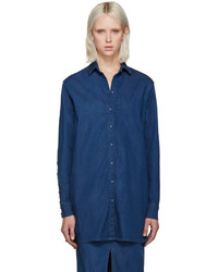 Won Hundred Blue Denim Sharla Shirt