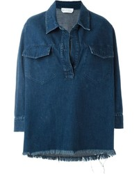 Chloé Washed Denim Shirt
