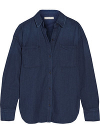Vince Denim Shirt Navy
