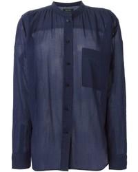 Isabel Marant Mandarin Collar Shirt