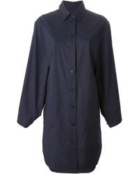 Acne Studios Caden Tech Pop Shirt Dress