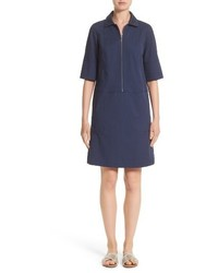 Brinley stretch cotton shirtdress medium 3723028