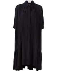 Lanvin Frilled Hem Shirt Dress