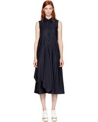 Stella McCartney Navy Willow Shirt Dress