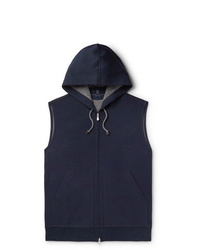 Brunello Cucinelli Cotton Blend Jersey Gilet