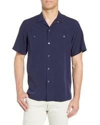 Tori Richard Aloha Clipper Classic Fit Short Sleeve Button Up Shirt