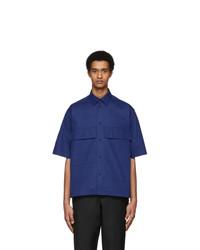 Jil Sander Blue Ariel Shirt