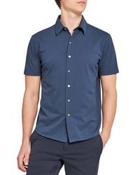 Theory Fairway Short Sleeve Button Up Shirt