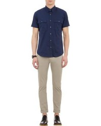 Theory Feynold S Short Sleeve Shirt