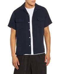 Drifter Fields Short Sleeve Button Up Shirt