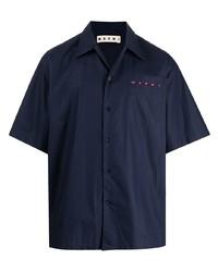 Marni Logo Print Short Sleeve Shirt