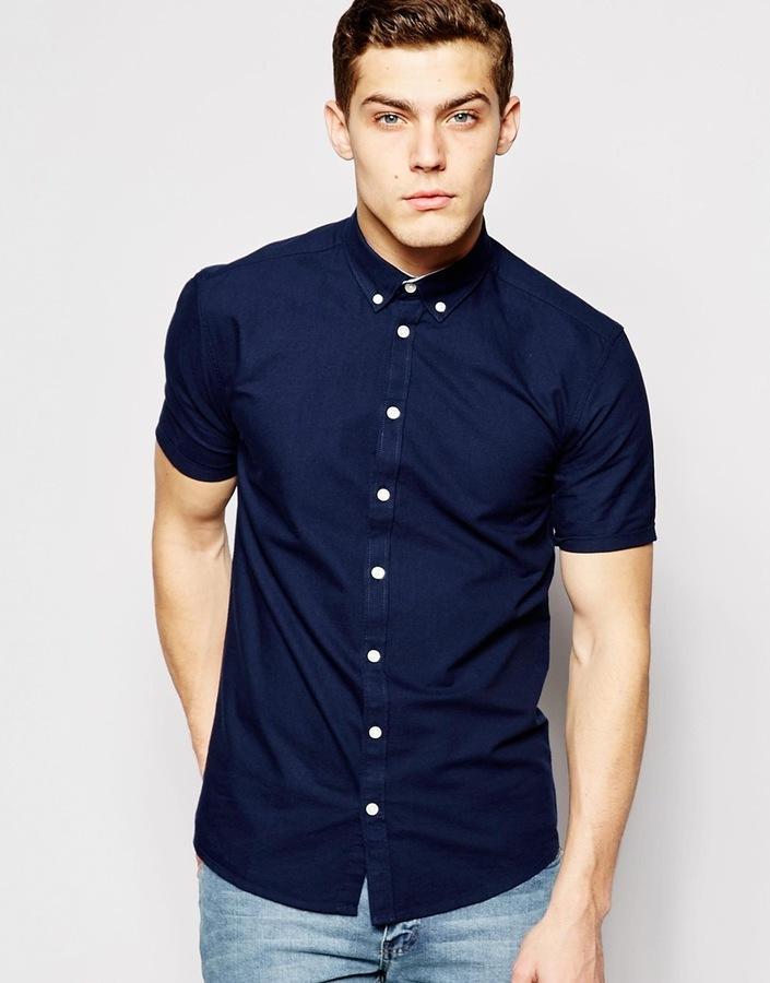 58bdf1dd3ec ... Minimum Clothing Minimum Oxford Shirt Short Sleeves ...