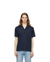 Bather Navy Camp Shirt