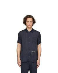 Stella McCartney Navy Cupro Timothy Shirt