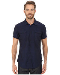 Calvin Klein Jeans Short Sleeve End On End Utility Shirt