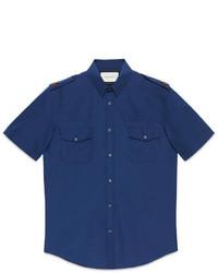 Gucci Short Sleeve Military Duke Shirt