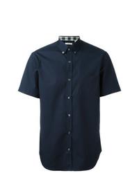 16f223b928fe Burberry Short Sleeved Stretch Cotton Poplin Shirt