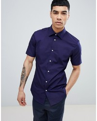 Esprit Slim Fit Smart Shirt With Stretch And Easy Iron