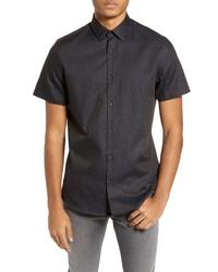 Calibrate Textured Sport Shirt