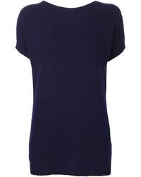 Agnona Short Sleeve Sweater