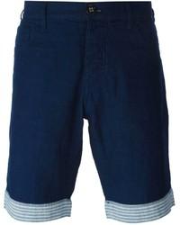 Armani Jeans Striped Hem Shorts