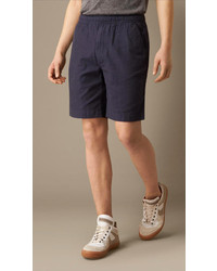 Burberry Brit Relaxed Fit Cotton Shorts