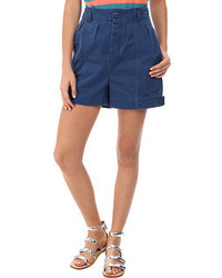 Marc by Marc Jacobs Classic Cotton Pleated Short Shorts
