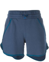 Diesel Piped Trim Track Shorts