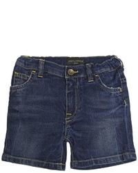 Dolce & Gabbana Stretch Cotton Denim Shorts