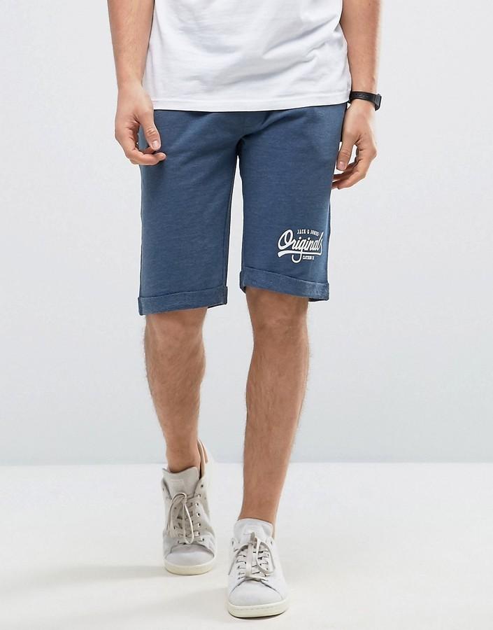 Jack /& Jones Navy Blazer Flex Shorts
