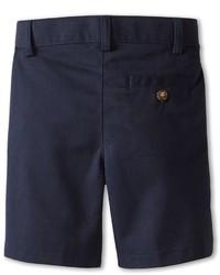 Nautica Kids Flat Front Twill Shorts