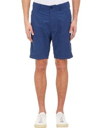 Nanamica Tech Taffeta Shorts Blue Size 34