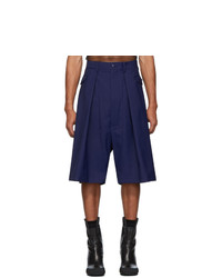 Random Identities Navy Hip Pocket Shorts