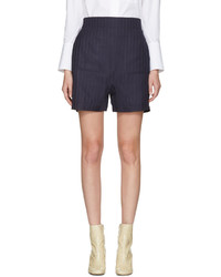 Acne Studios Navy Sachi Shorts