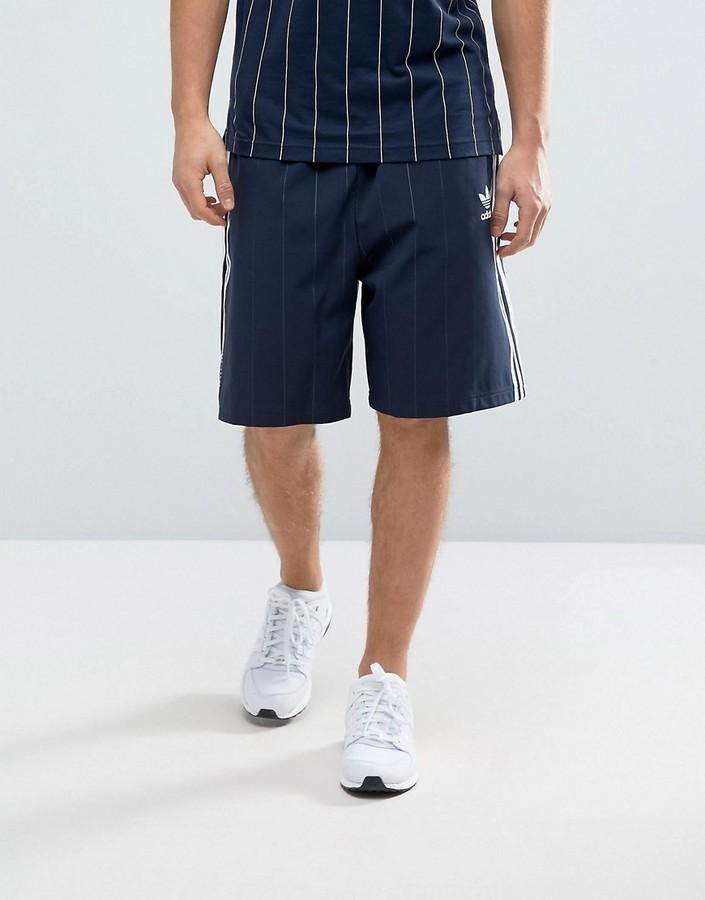 adidas shorts navy blue