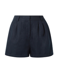 Frame Pleated Lyocell And Shorts