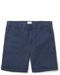 ... Gant Rugger Cotton And Linen Blend Shorts